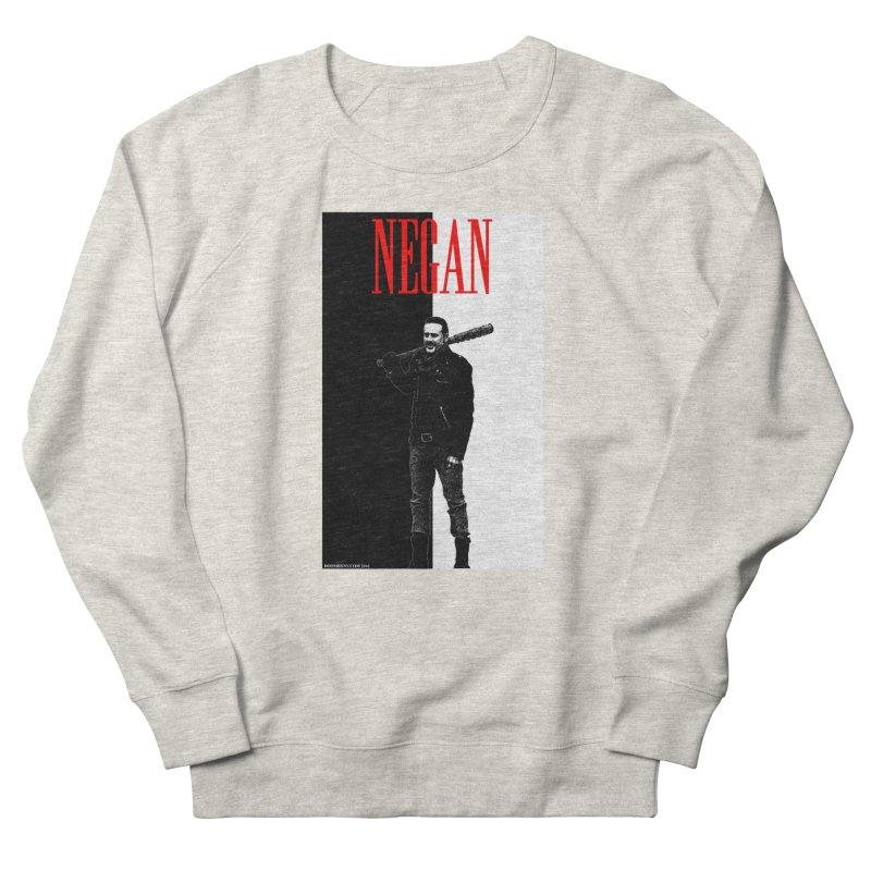 Negan Face Men's Sweatshirt by doombxny's Artist Shop