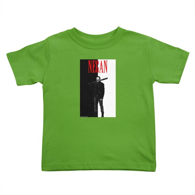 Negan Face Kids Toddler T-Shirt by doombxny's Artist Shop