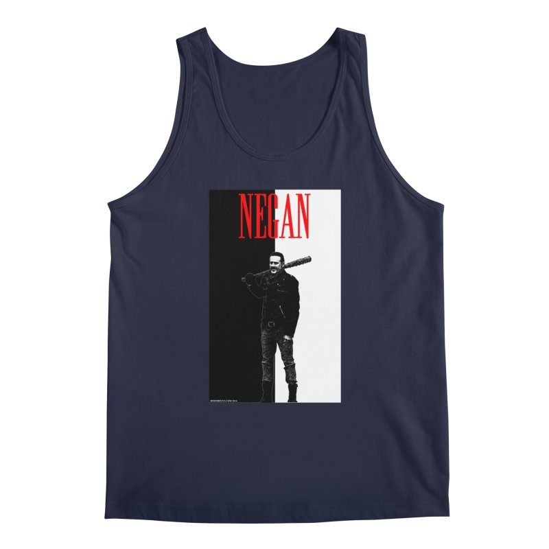 Negan Face Men's Tank by doombxny's Artist Shop