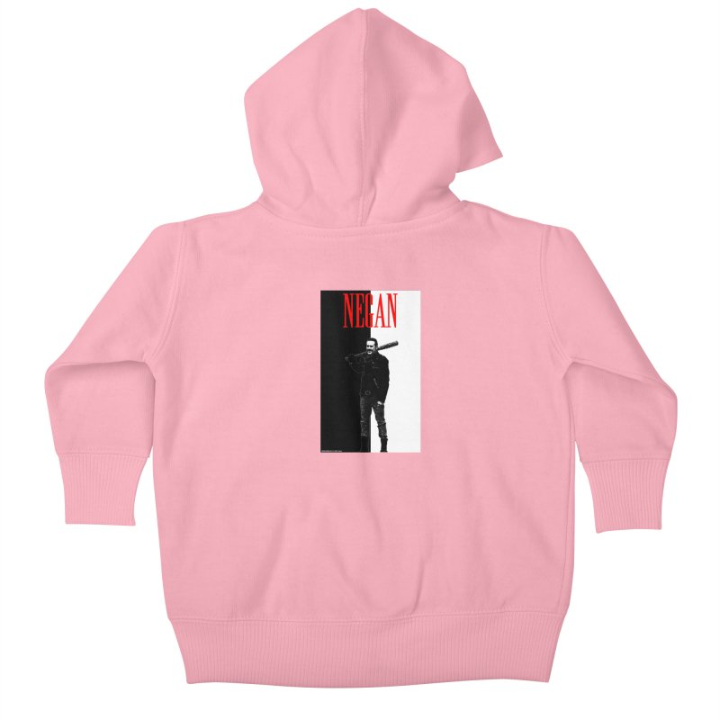 Negan Face Kids Baby Zip-Up Hoody by doombxny's Artist Shop
