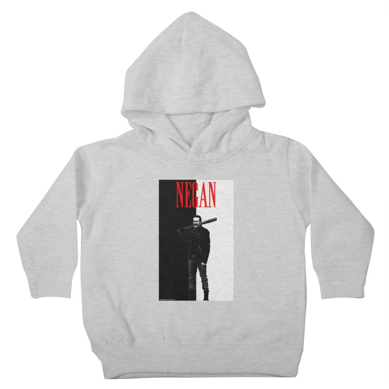 Negan Face Kids Toddler Pullover Hoody by doombxny's Artist Shop