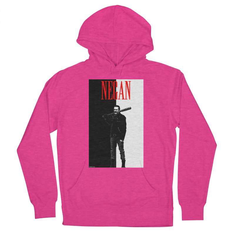 Negan Face Women's Pullover Hoody by doombxny's Artist Shop