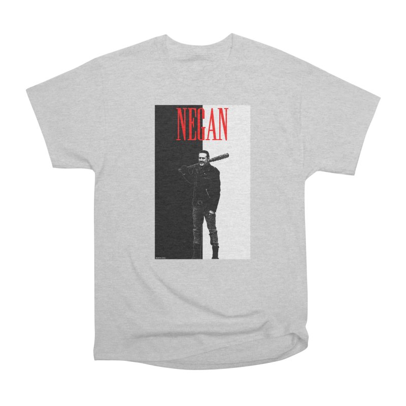 Negan Face Men's Classic T-Shirt by doombxny's Artist Shop