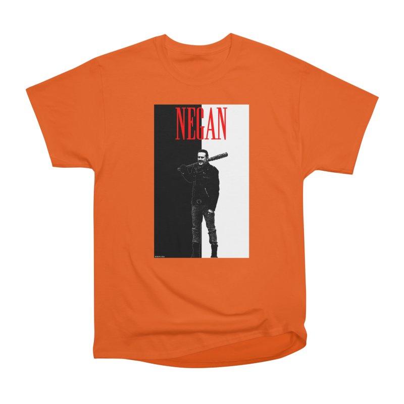 Negan Face Women's Classic Unisex T-Shirt by doombxny's Artist Shop