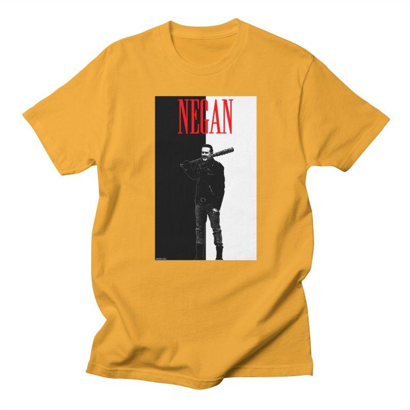 Negan Face Women's Unisex T-Shirt by doombxny's Artist Shop