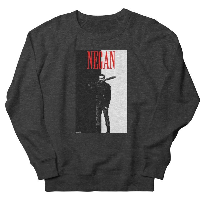 Negan Face Women's Sweatshirt by doombxny's Artist Shop