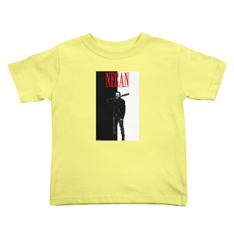 Negan Face Kids Toddler T-Shirt by doombxny's Artist Shop