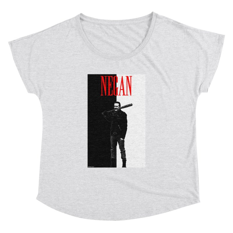 Negan Face Women's Dolman by doombxny's Artist Shop