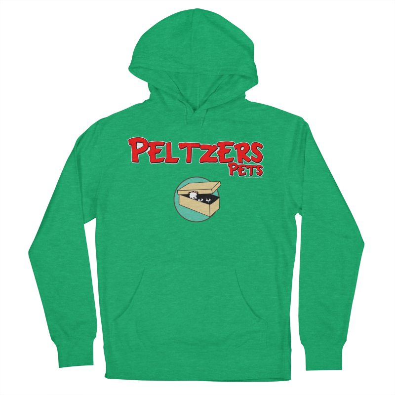 Peltzers Pets Women's French Terry Pullover Hoody by doombxny's Artist Shop