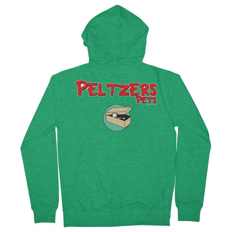 Peltzers Pets Men's Zip-Up Hoody by doombxny's Artist Shop