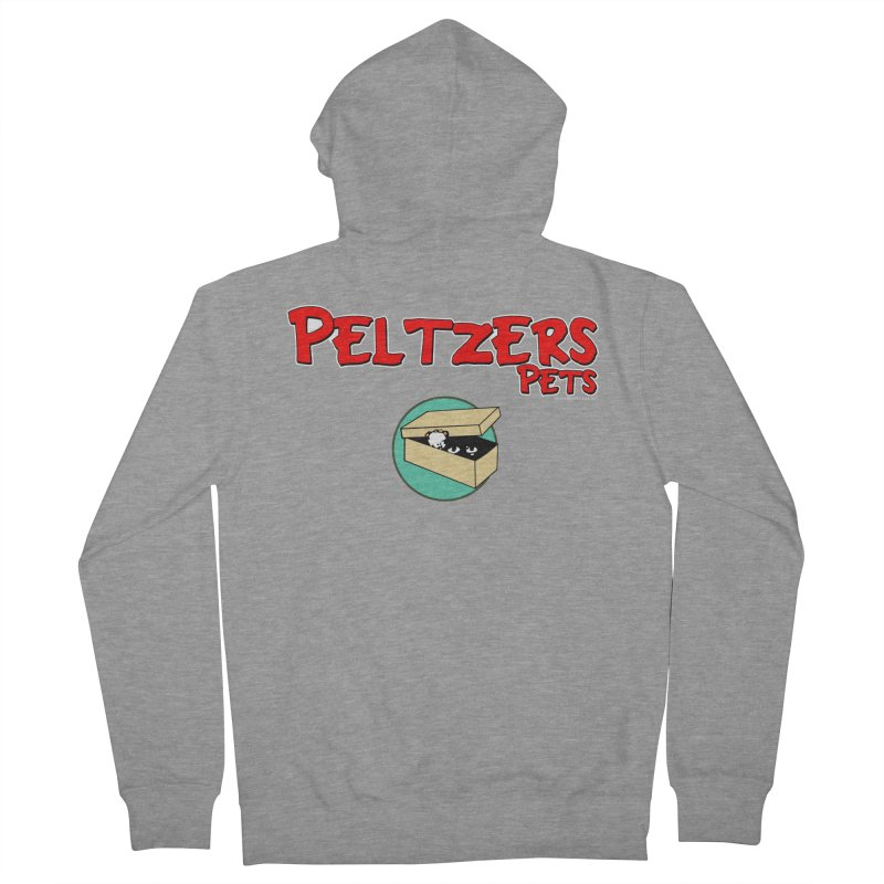 Peltzers Pets Men's Zip-Up Hoody by doombxny's Artist Shop