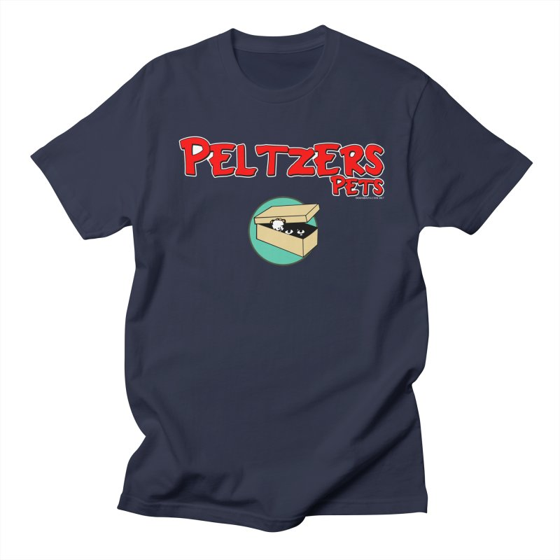 Peltzers Pets Men's Regular T-Shirt by doombxny's Artist Shop