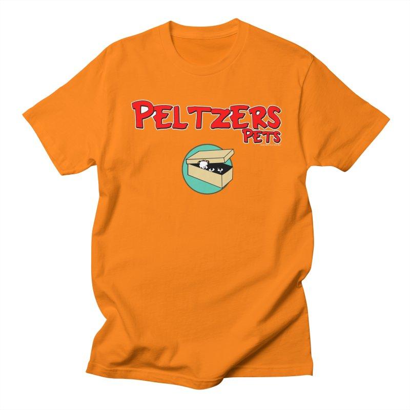 Peltzers Pets Women's Regular Unisex T-Shirt by doombxny's Artist Shop