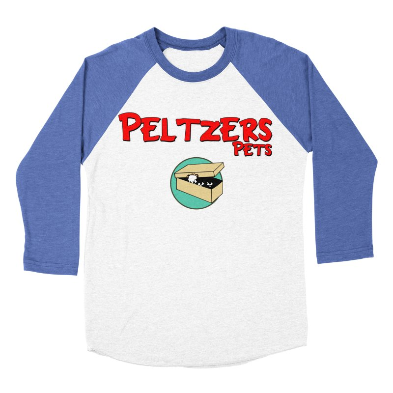 Peltzers Pets Women's Baseball Triblend T-Shirt by doombxny's Artist Shop