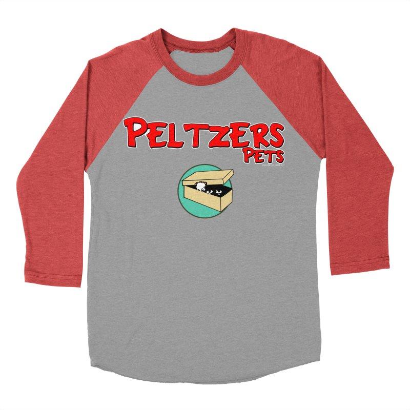 Peltzers Pets Women's Baseball Triblend T-Shirt by doombxny's Artist Shop