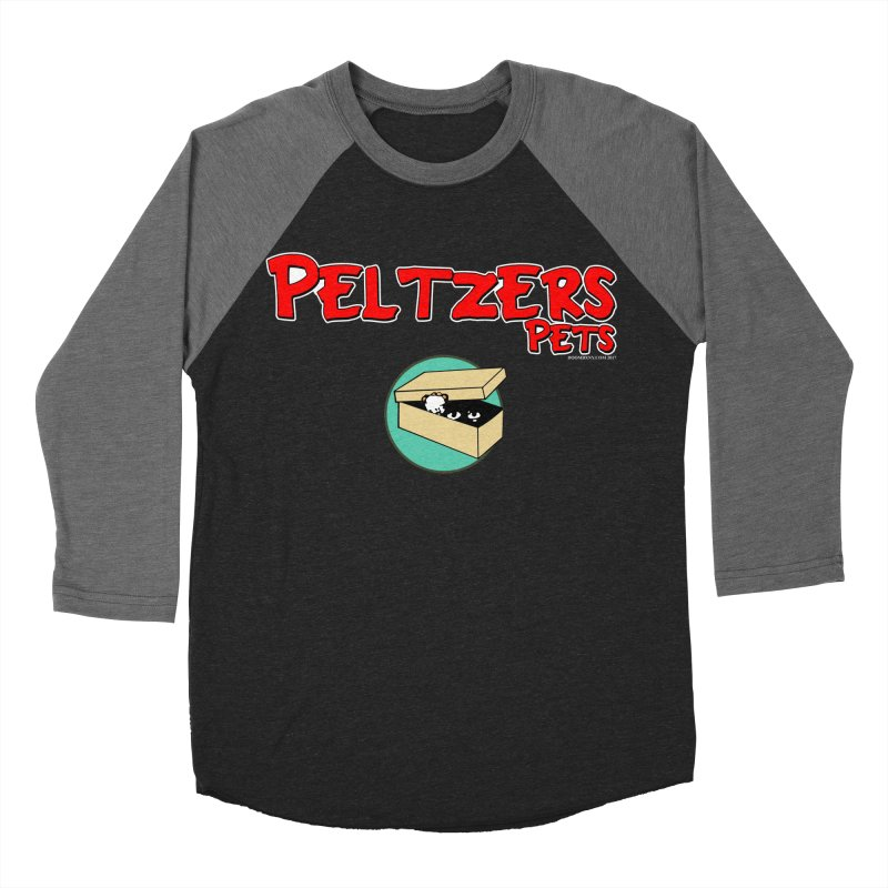 Peltzers Pets Men's Baseball Triblend T-Shirt by doombxny's Artist Shop