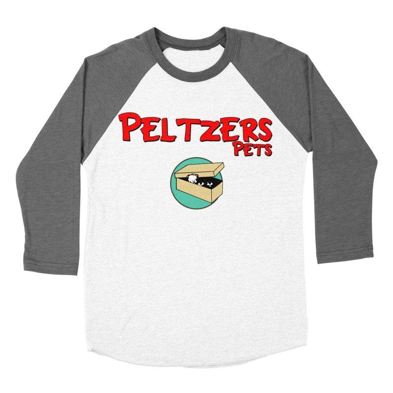 Peltzers Pets Men's Baseball Triblend Longsleeve T-Shirt by doombxny's Artist Shop
