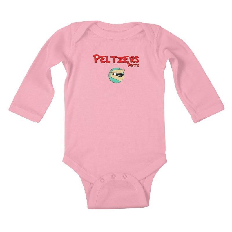 Peltzers Pets Kids Baby Longsleeve Bodysuit by doombxny's Artist Shop
