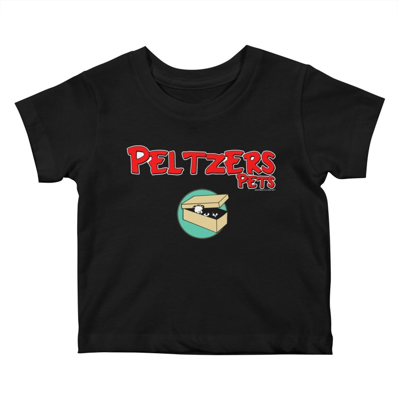 Peltzers Pets Kids Baby T-Shirt by doombxny's Artist Shop