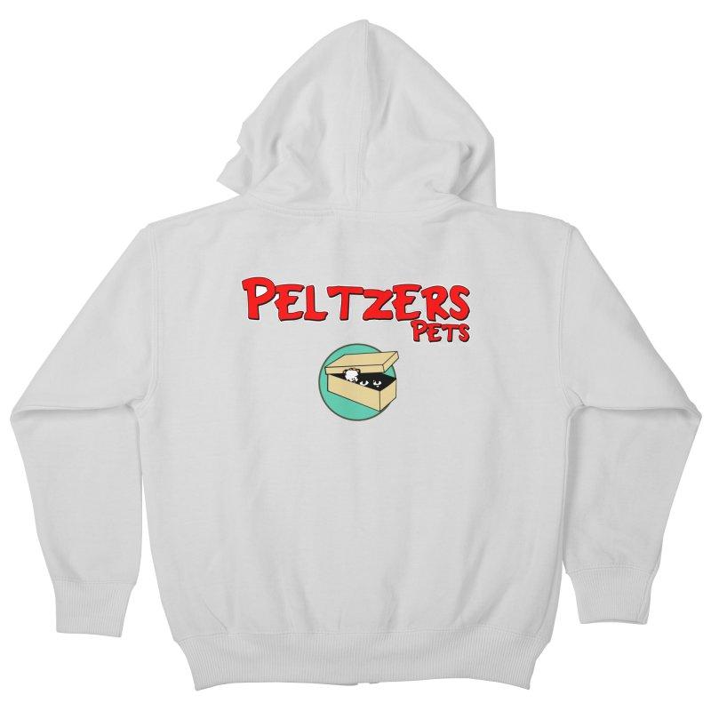 Peltzers Pets Kids Zip-Up Hoody by doombxny's Artist Shop