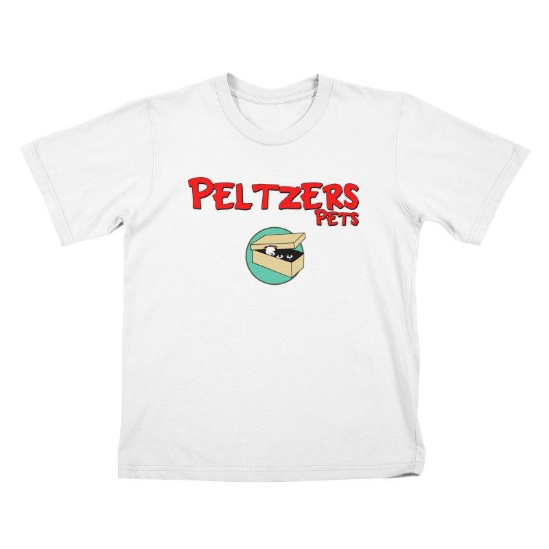 Peltzers Pets Kids T-Shirt by doombxny's Artist Shop