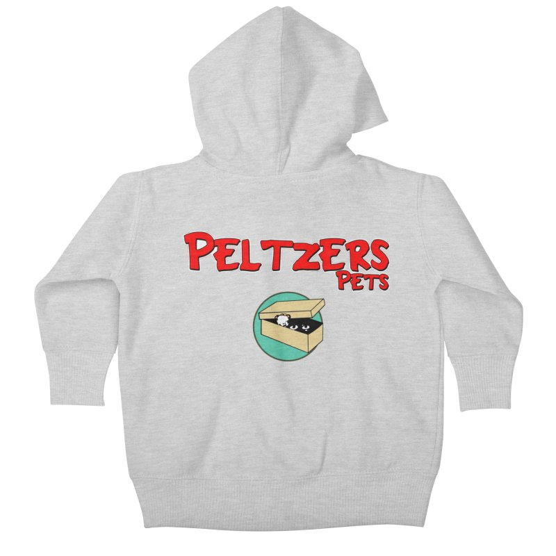 Peltzers Pets Kids Baby Zip-Up Hoody by doombxny's Artist Shop