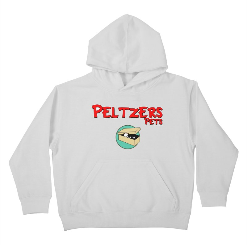 Peltzers Pets Kids Pullover Hoody by doombxny's Artist Shop