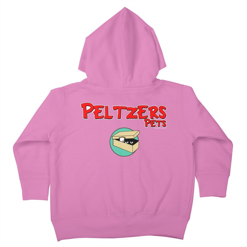 Peltzers Pets Kids Toddler Zip-Up Hoody by doombxny's Artist Shop