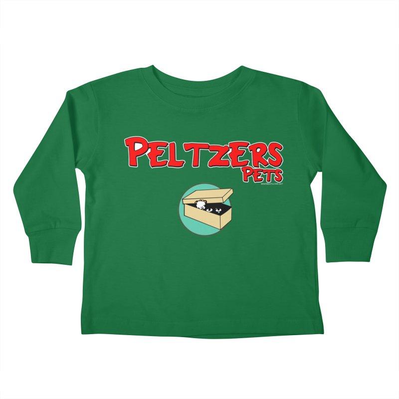 Peltzers Pets Kids Toddler Longsleeve T-Shirt by doombxny's Artist Shop