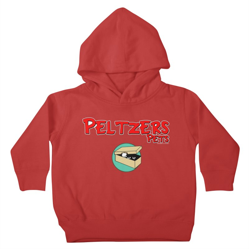 Peltzers Pets Kids Toddler Pullover Hoody by doombxny's Artist Shop