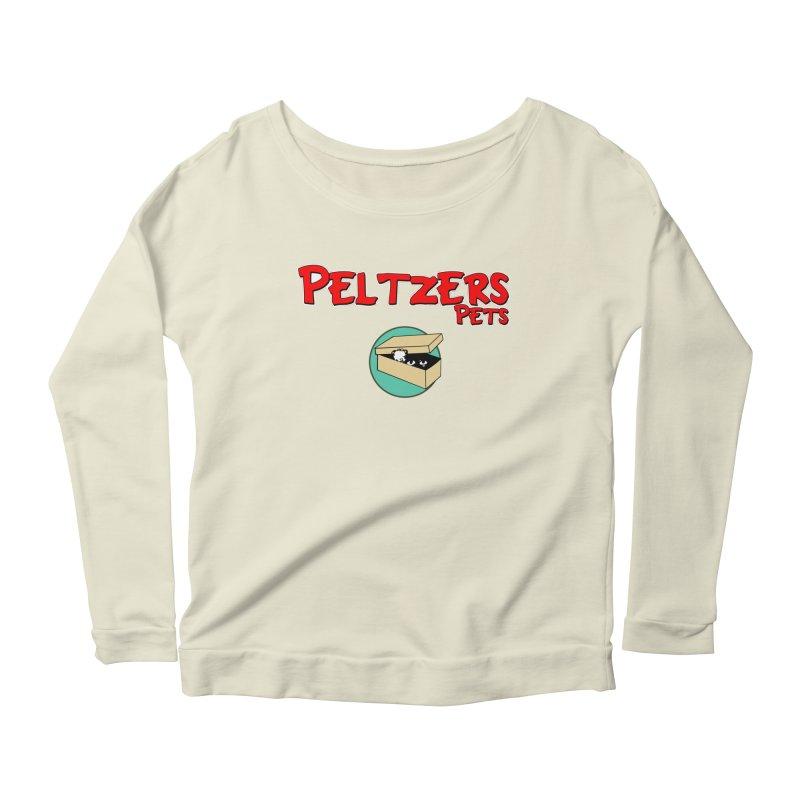 Peltzers Pets Women's Longsleeve Scoopneck  by doombxny's Artist Shop