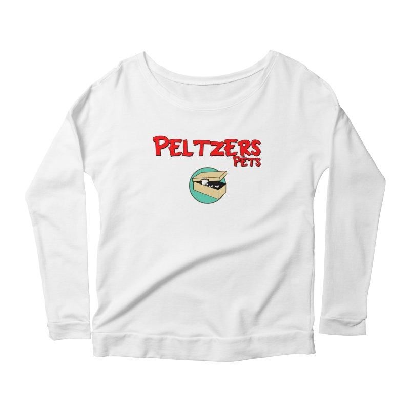 Peltzers Pets Women's Scoop Neck Longsleeve T-Shirt by doombxny's Artist Shop