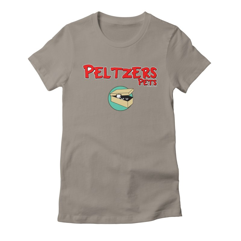 Peltzers Pets Women's Fitted T-Shirt by doombxny's Artist Shop
