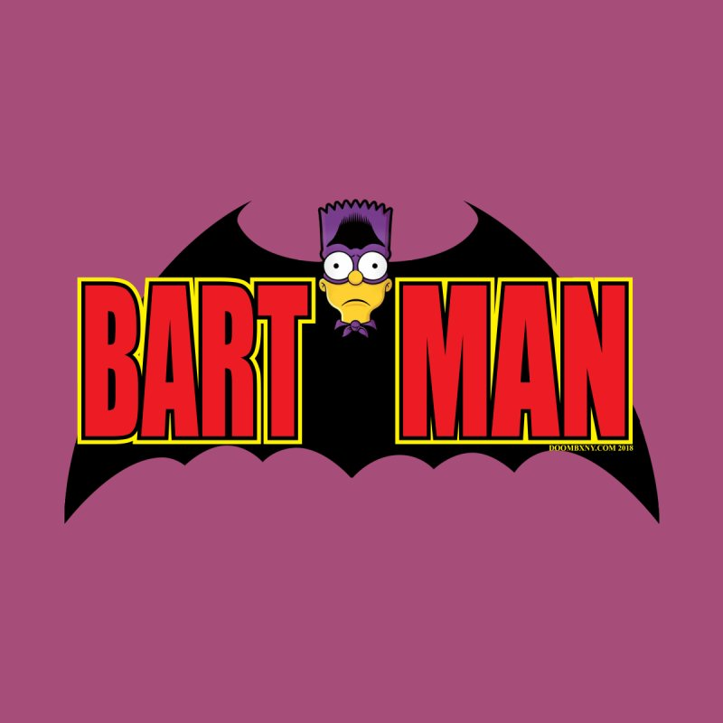 Bart Man Kids T-Shirt by doombxny's Artist Shop