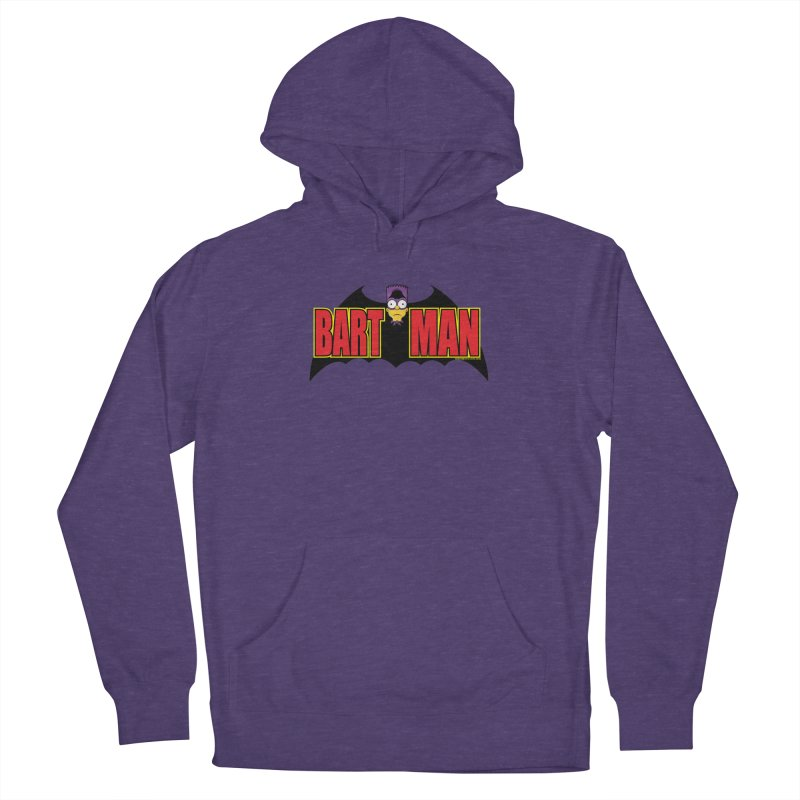 Bart Man Men's French Terry Pullover Hoody by doombxny's Artist Shop