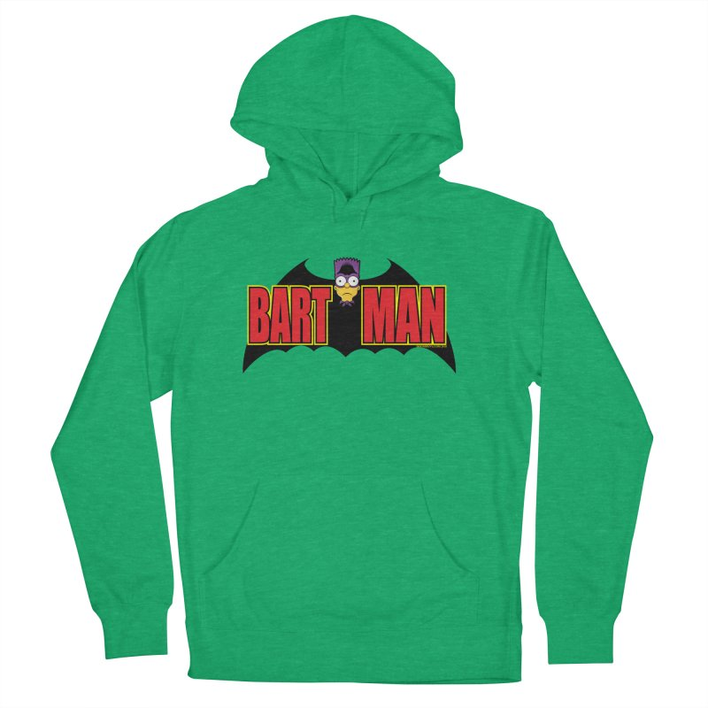 Bart Man Women's French Terry Pullover Hoody by doombxny's Artist Shop
