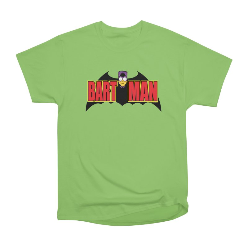 Bart Man Men's Heavyweight T-Shirt by doombxny's Artist Shop
