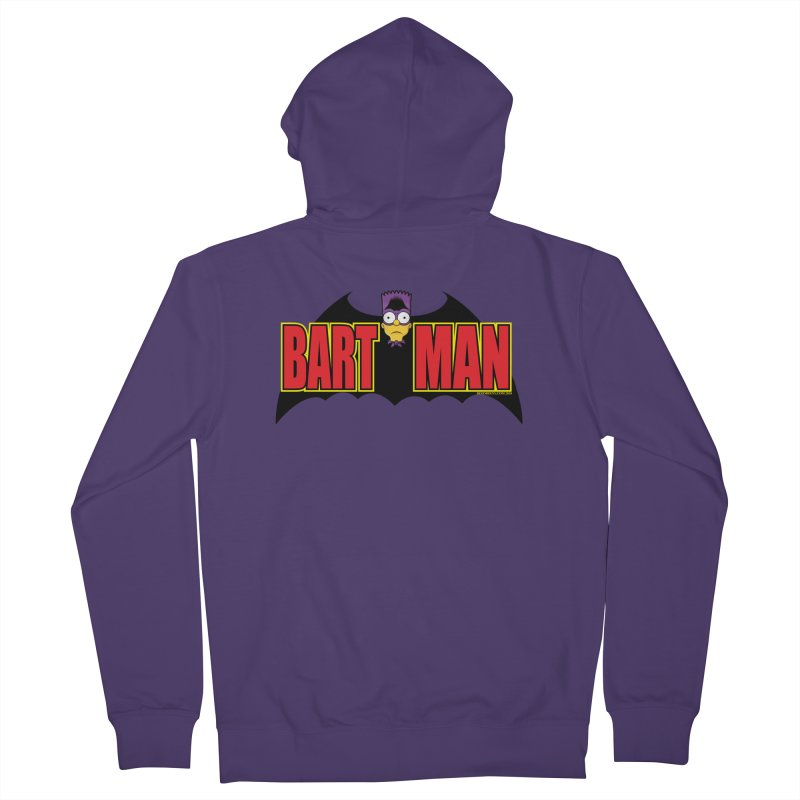 Bart Man Women's French Terry Zip-Up Hoody by doombxny's Artist Shop