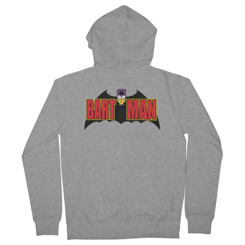 Bart Man Men's Zip-Up Hoody by doombxny's Artist Shop