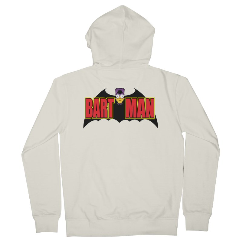 Bart Man Men's French Terry Zip-Up Hoody by doombxny's Artist Shop
