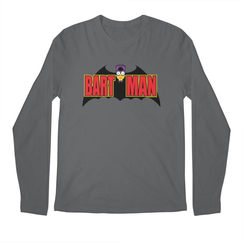 Bart Man Men's Regular Longsleeve T-Shirt by doombxny's Artist Shop