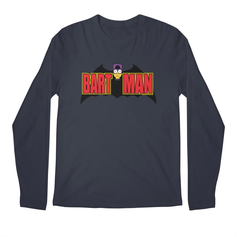 Bart Man Men's Regular Longsleeve T-Shirt by doombxny's Artist Shop