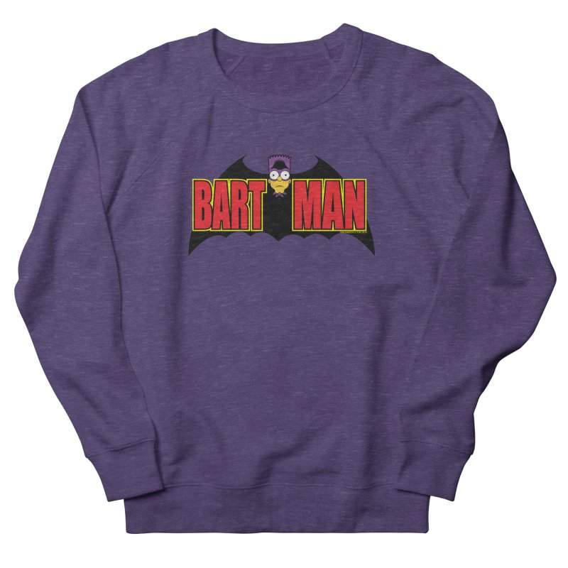 Bart Man Women's French Terry Sweatshirt by doombxny's Artist Shop