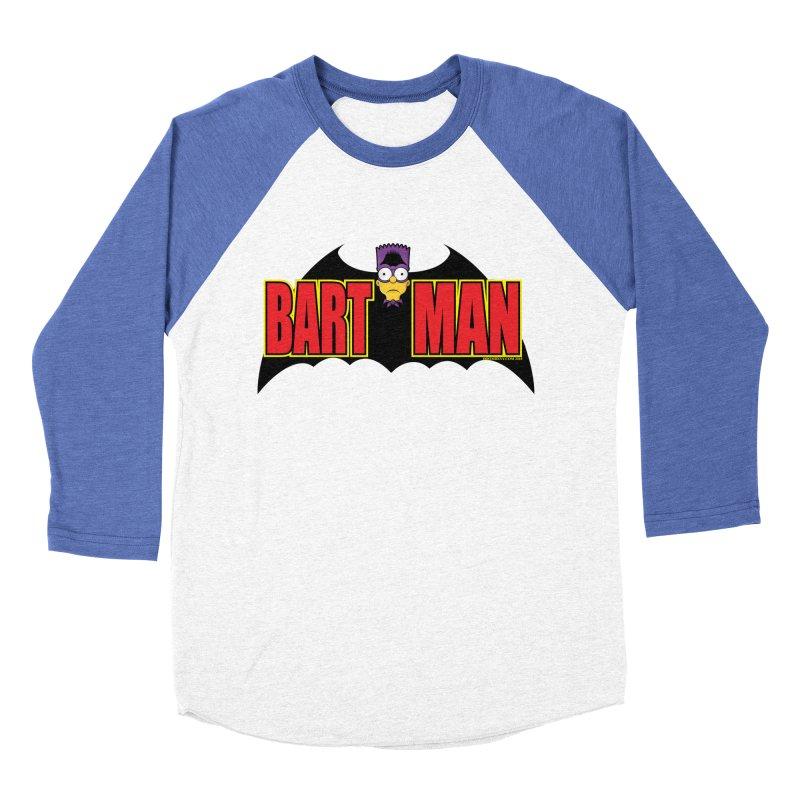 Bart Man Men's Baseball Triblend Longsleeve T-Shirt by doombxny's Artist Shop
