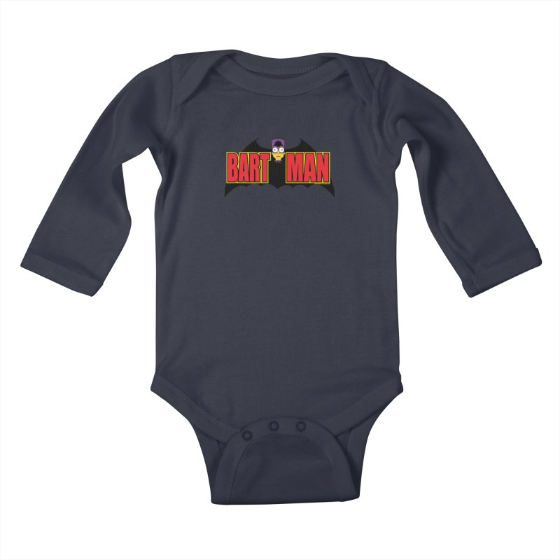 Bart Man Kids Baby Longsleeve Bodysuit by doombxny's Artist Shop