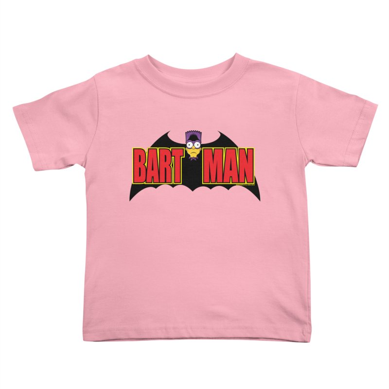 Bart Man Kids Toddler T-Shirt by doombxny's Artist Shop