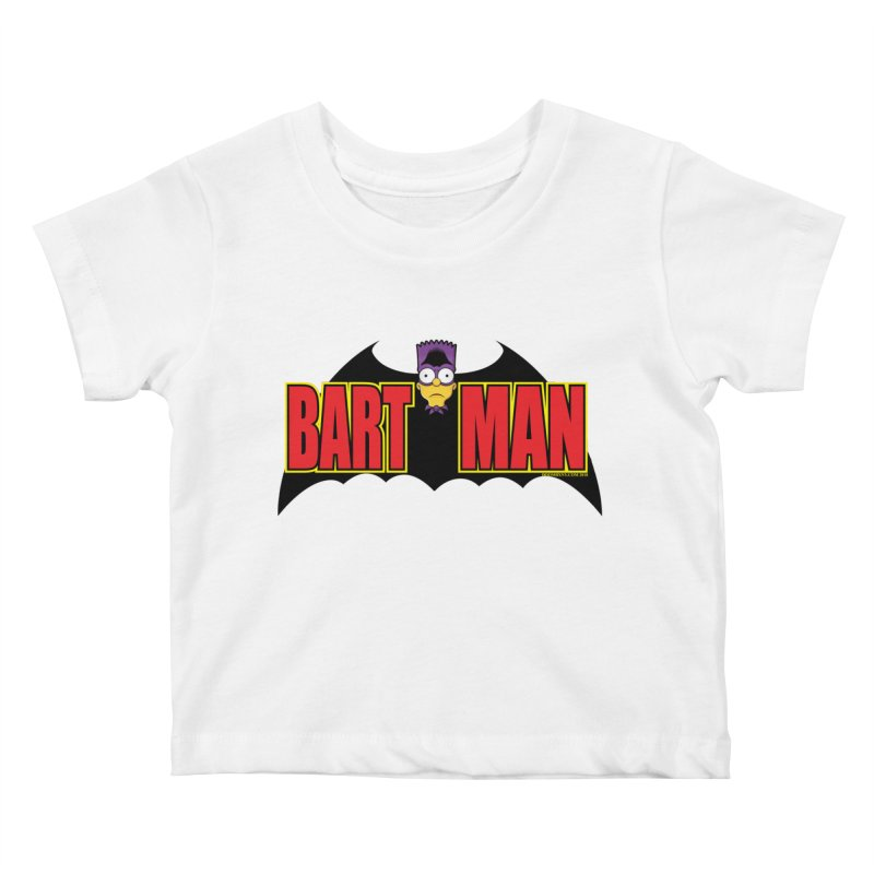 Bart Man Kids Baby T-Shirt by doombxny's Artist Shop