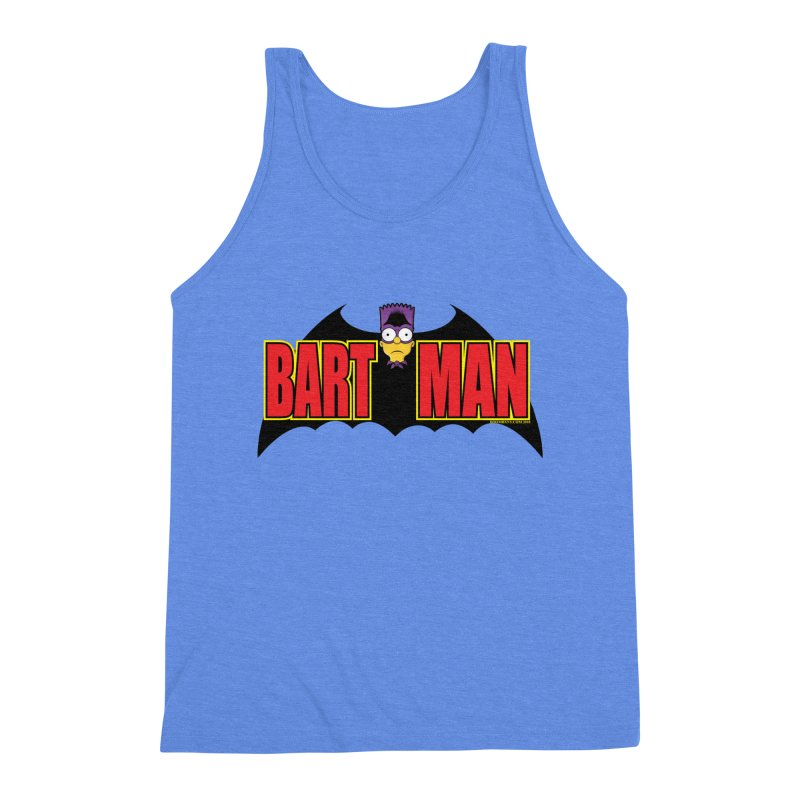 Bart Man Men's Triblend Tank by doombxny's Artist Shop