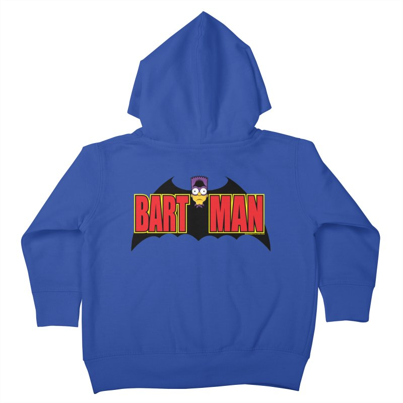 Bart Man Kids Toddler Zip-Up Hoody by doombxny's Artist Shop
