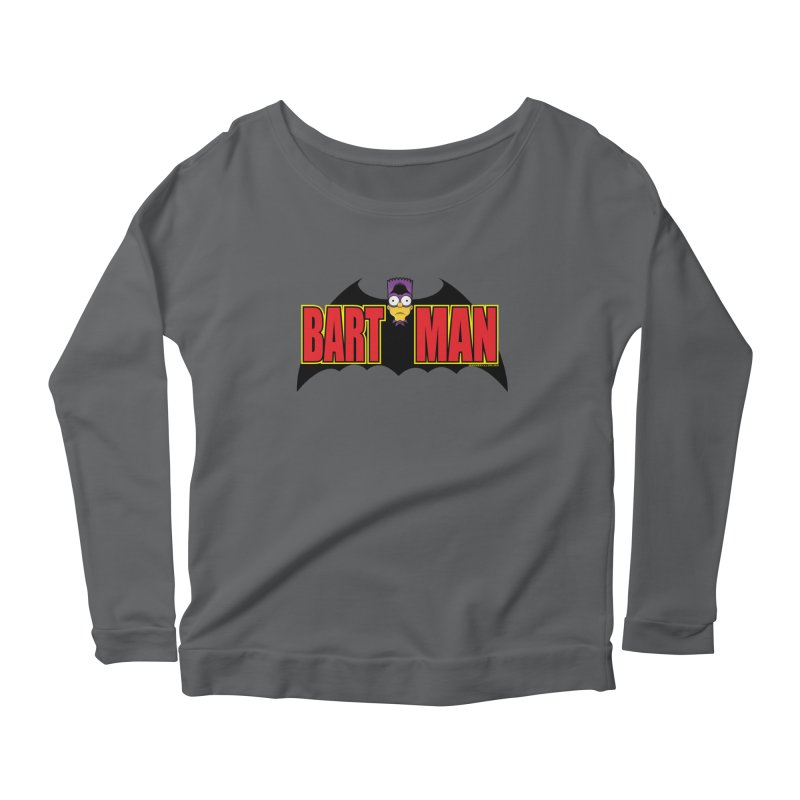 Bart Man Women's Scoop Neck Longsleeve T-Shirt by doombxny's Artist Shop